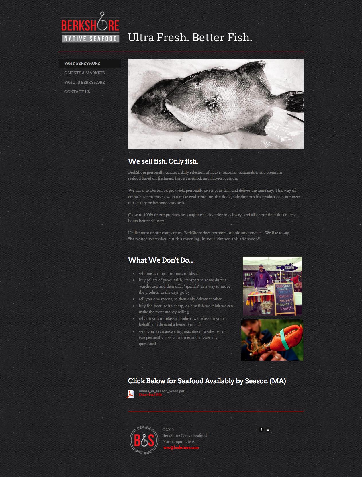 BerkShore Native Seafood