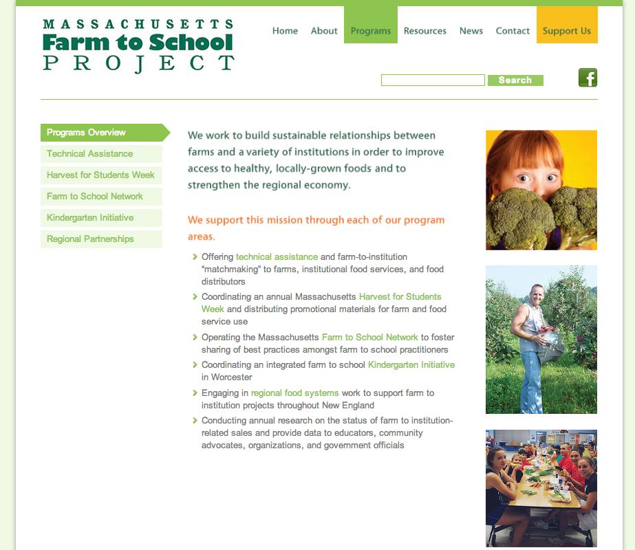 Massachusetts Farm to School Program