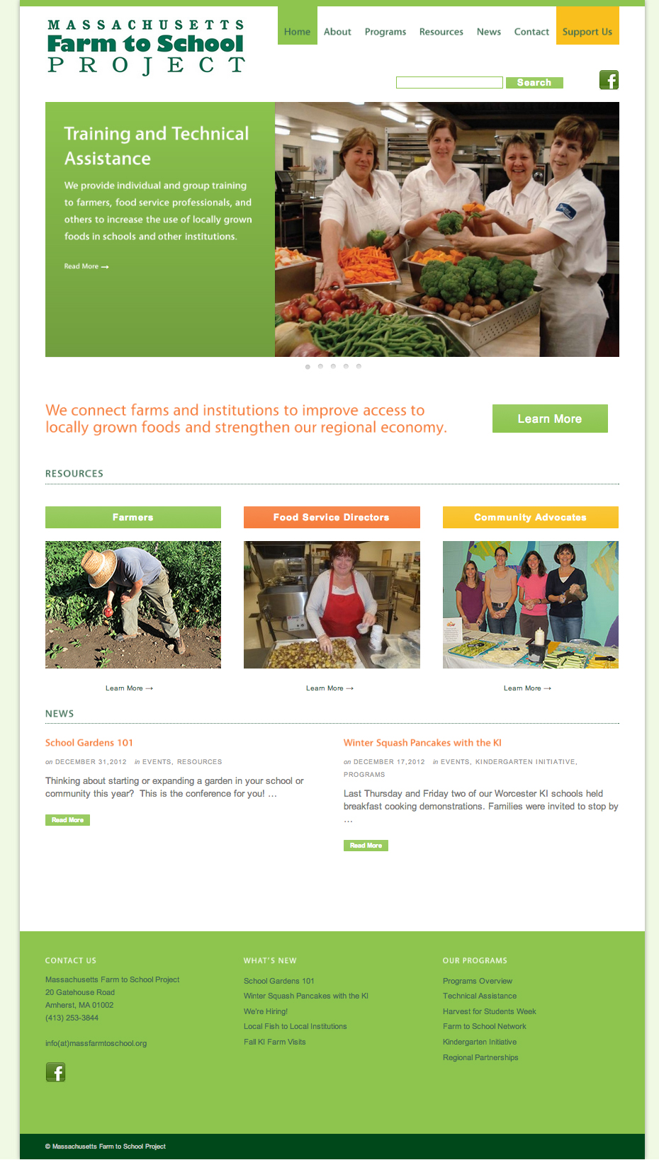 Massachusetts Farm to School Program